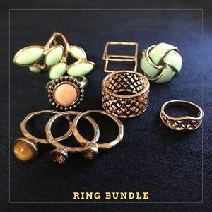 Fun Bundle of Nine Rings!
